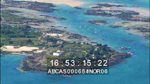 Les îles, au nord de la baie du Mont-Saint-Michel