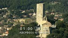 La Tour Taradel et la chapelle St-Martin