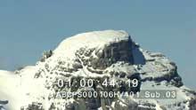 Les Alpes enneigées