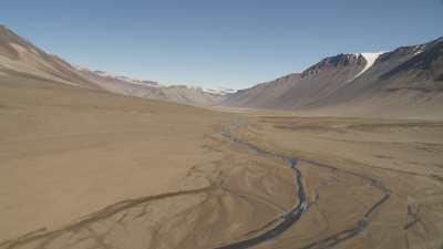 Rivière Onyx dans la vallée du glacier Wright