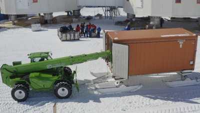 Activités logistiques après l'arrivée du convoi de ravitaillement