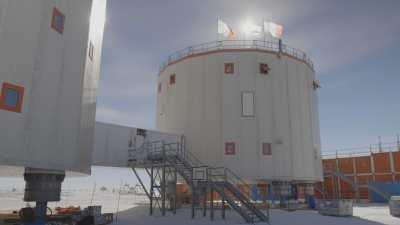 Vues de la station Concordia