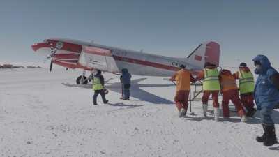 Avions de ravitaillement à Concordia