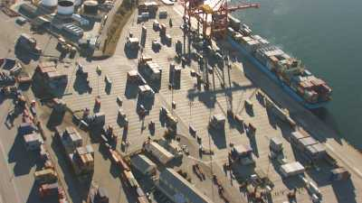 Gros plans sur le port
