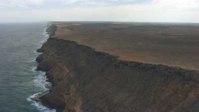 Littoral de falaises  de Zuytdorp