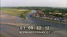 Le vaste littoral de la  baie de Somme