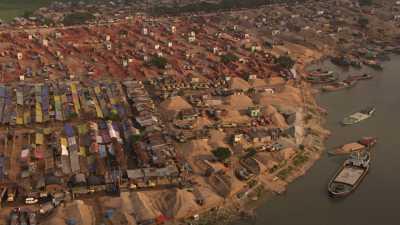 Port d'Amin bazar, transport du charbon