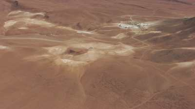 Traitement du borax à 5000 m d'altitude