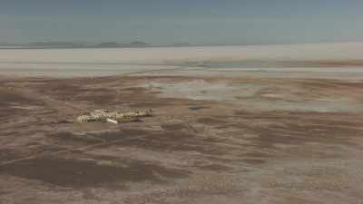 Habitations aux abords du Salar d'Uyuni