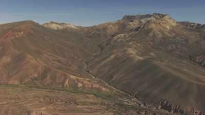 Montagnes arides