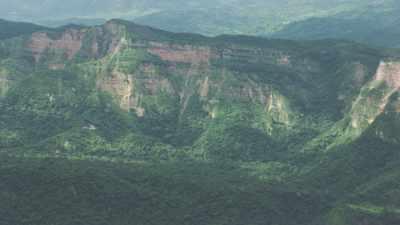 Parc National Amboro, collines verdoyantes