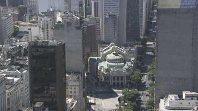 le centre ville de Rio et la baie