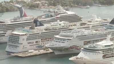 Paradise Island, les bateaux de croisière