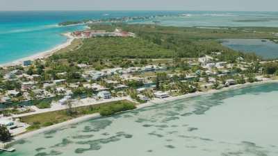 Survol de l'île