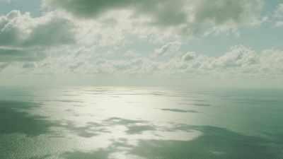 La mer et le ciel se rencontrent