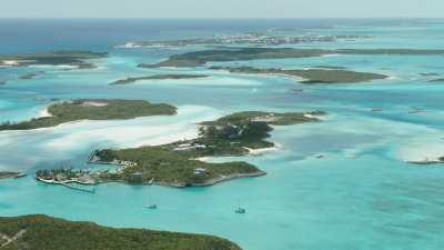 Succession d'îles