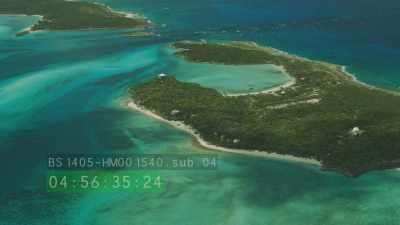 Défilé de petites et grandes îles