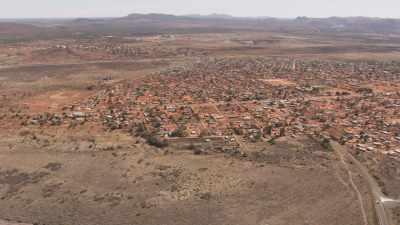 Ville près de la frontière