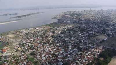 Approche vers Brazzaville