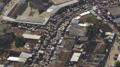 Le marché de Brazzaville