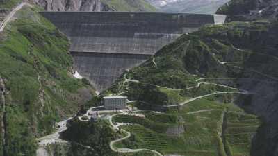 Le barrage de Grande Dixence