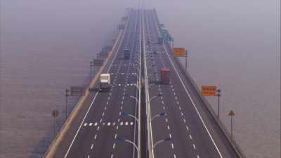 Pont Donghai,Iles Yangshan
