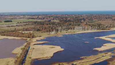 Marais à l'ouest de Copenhague
