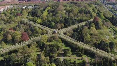 Le cimetière de Vestre à Copenhague