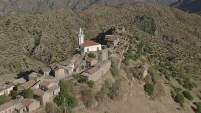 Petit village de montagne en Kabylie