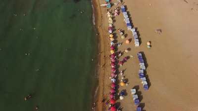 Plage de Boulimat, près de Béjaïa
