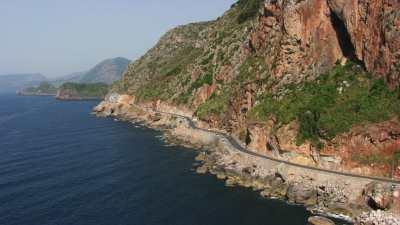 Route le long de la côte, Golfe de Béjaïa