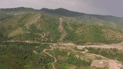 Route le long de la côte, sud de Béjaïa