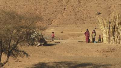 Villages dans le Hoggar, près de Tamanrasset