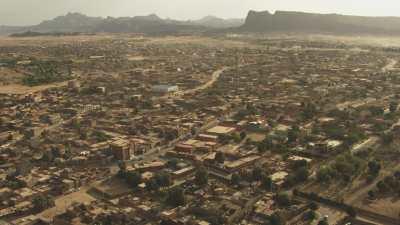 Quartiers et marché de Tamanrasset