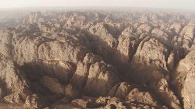 Plans larges du désert