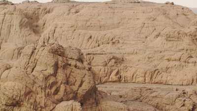 Formations rocheuses entre Tamanrasset et Djanet