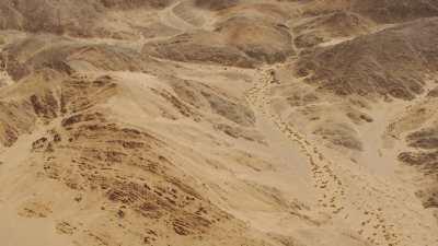 Désert, sable et roche