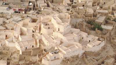 Palais à Djanet et habitations