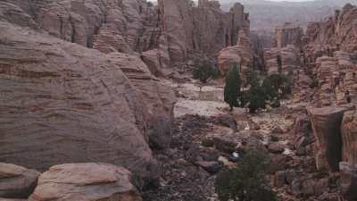 Canyons et formations rocheuses près de Djanet