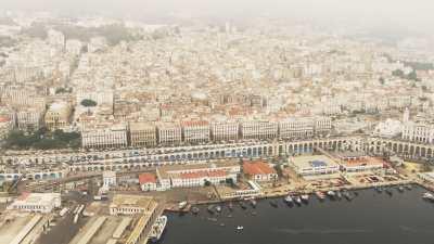 Vue aérienne d'Alger