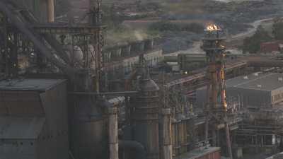 Gros plans, industrie pétrolière