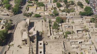 La Cité des Morts, ancienne nécropole aujourd'hui habitée