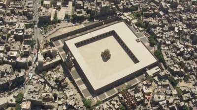 Mosquées près de la Citadelle de Saladin