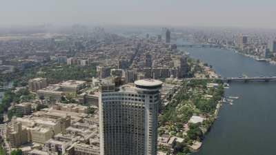 Le Caire sur les bords du Nil