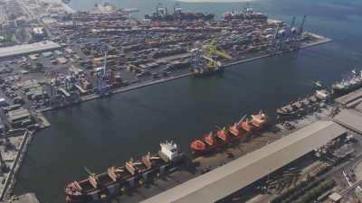 Zone portuaire d'Alexandrie