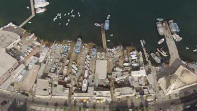 La baie d'Alexandrie et la citadelle de Qaitbay
