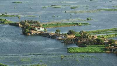 Delta du Nil près du Caire