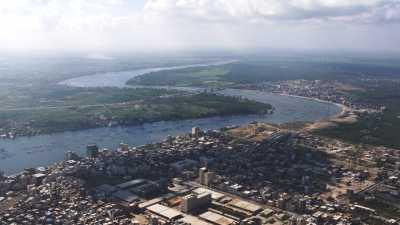 Méandres et bras occidental du Nil