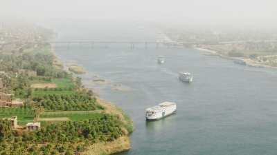 Pont de Louxor et croisière sur le Nil