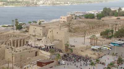 Temple de Louxor et mosquée Abou al-Haggag